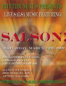 Salson March 7 2009 Santa Cruz